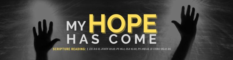 My Hope Has Come - ATAP October 2021