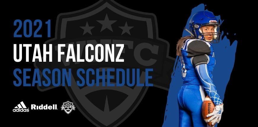 Utah Falconz 2021 Season Schedule