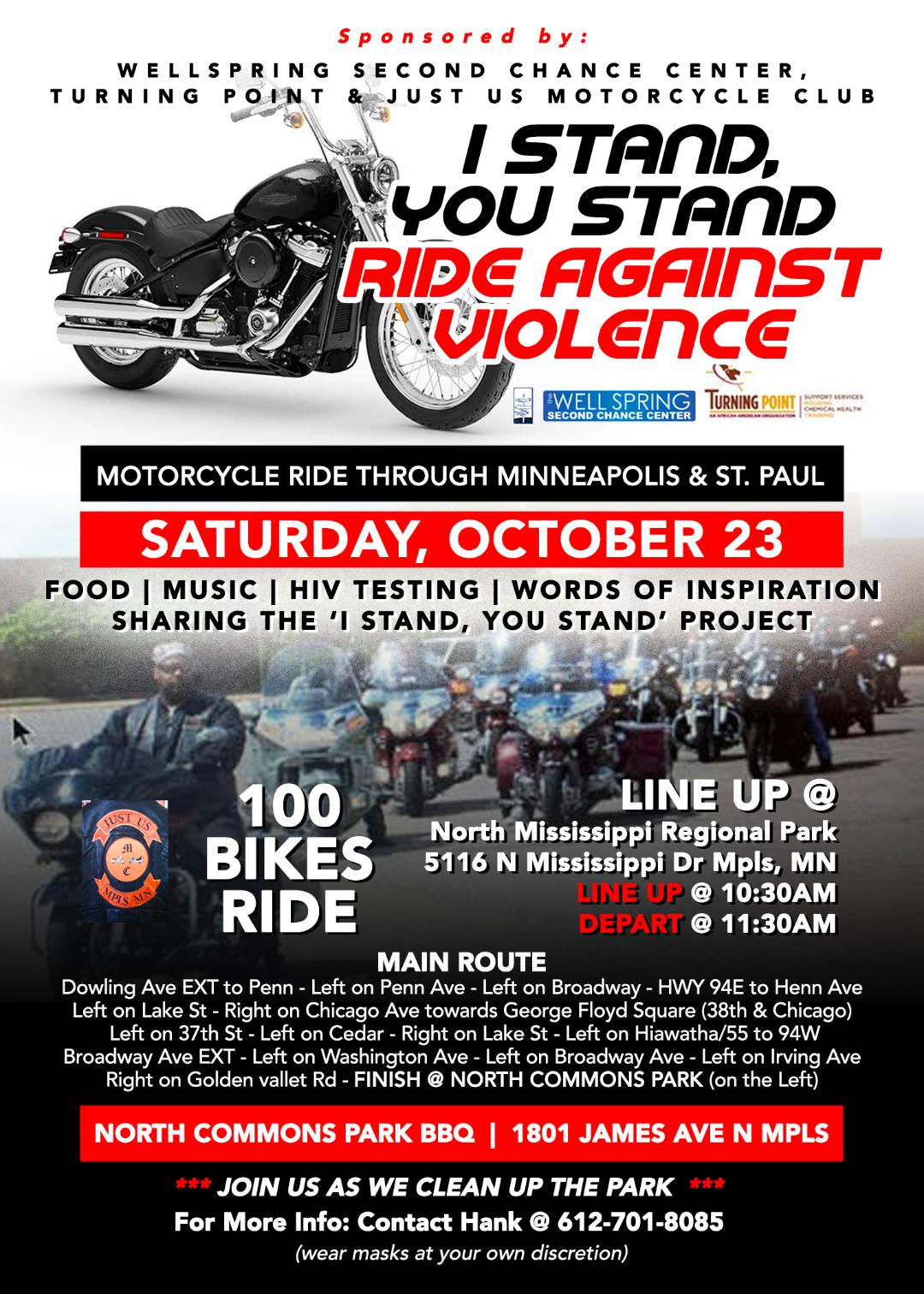 I Stand You Ride Against Violence