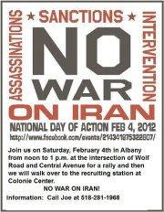 No War On Iran