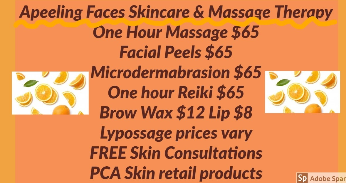 A-Peeling Faces Skin Care & Massage Therapy