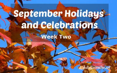 September Holidays and Celebrations