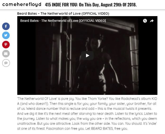 beard bates netherworld of love come here floyd review