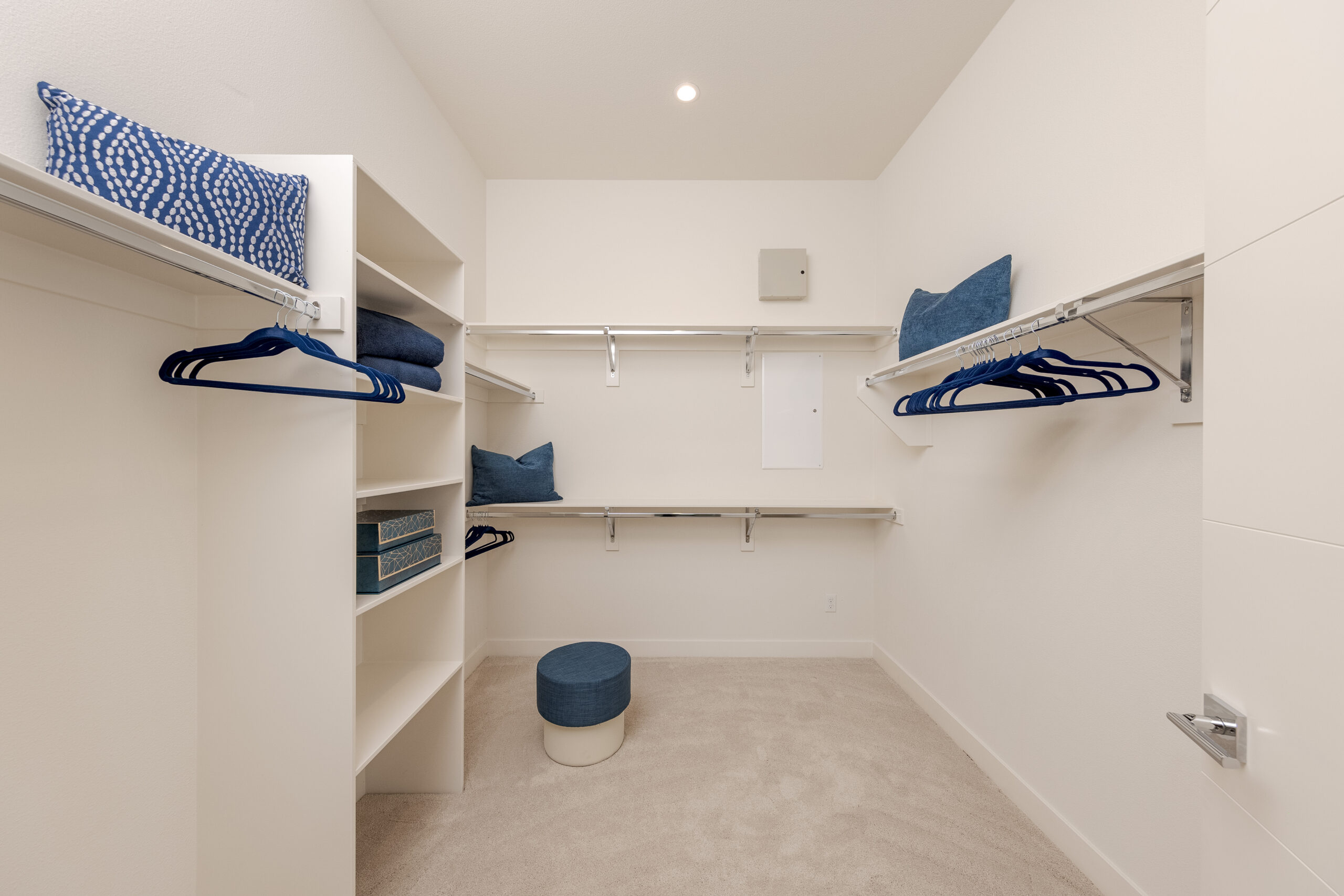 Residence 2: Primary walk-in closet