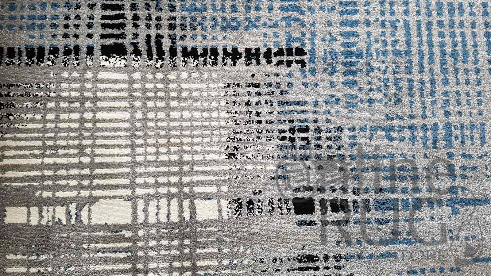 Blue Grey Abstract Lines