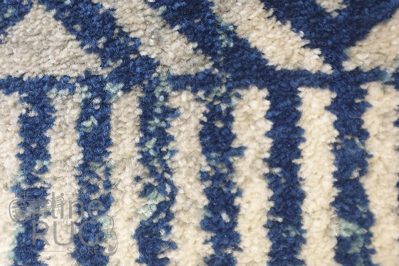 Heaven Navy Blue Tribal Bohemian Rug