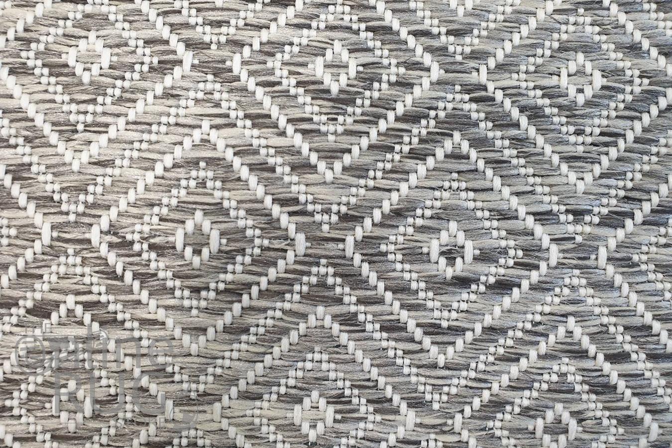 Tash Natural Diamond Patterned Outdoor Rug
