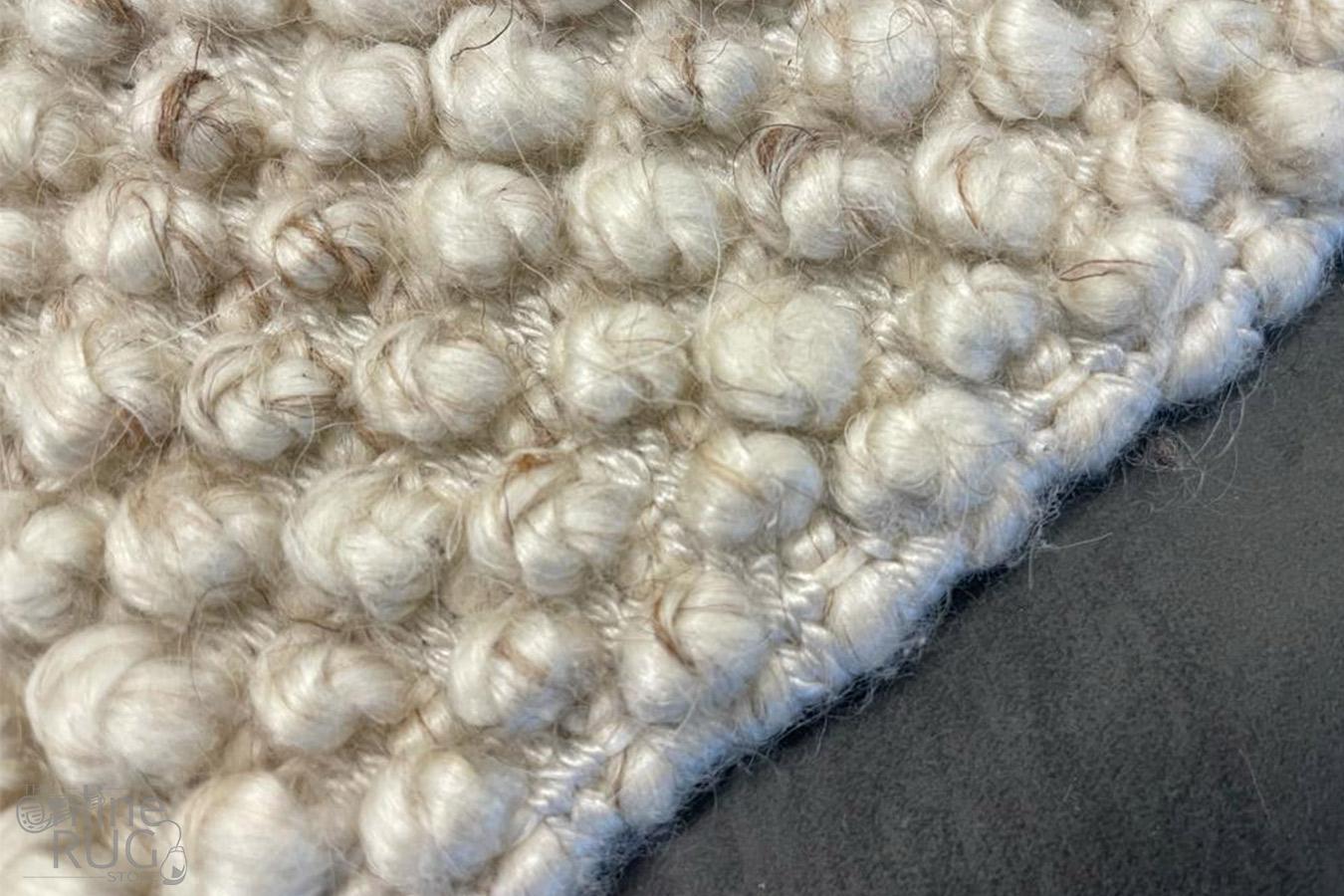 Avani Natural Off White Loop Rug
