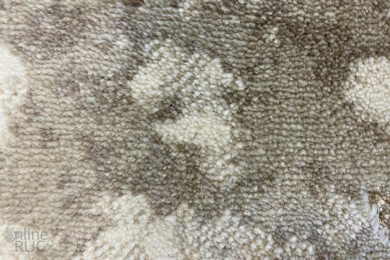 Bailey Beige Abstract Vintage Rug
