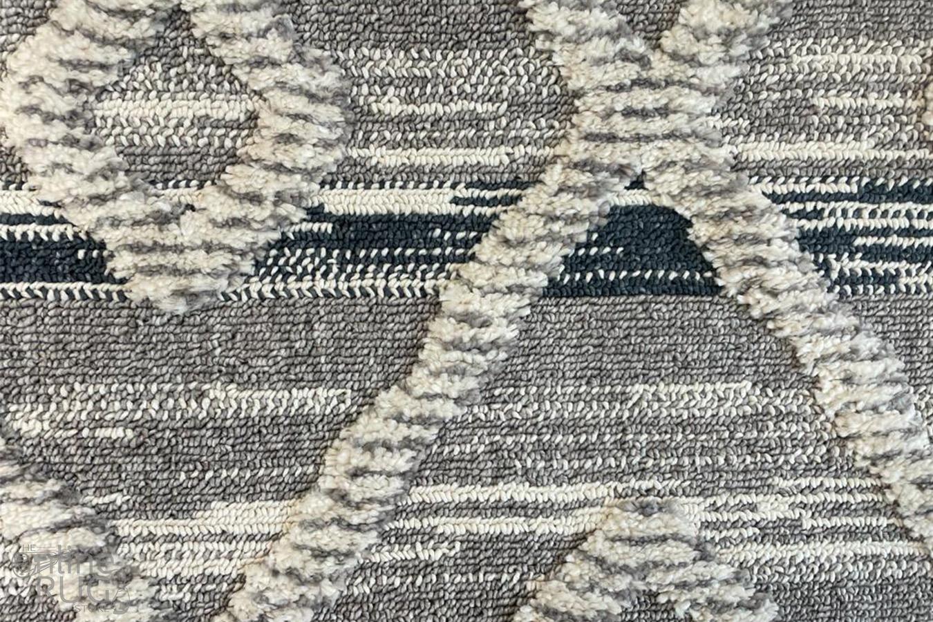 Kasa Grey Aztec Rug