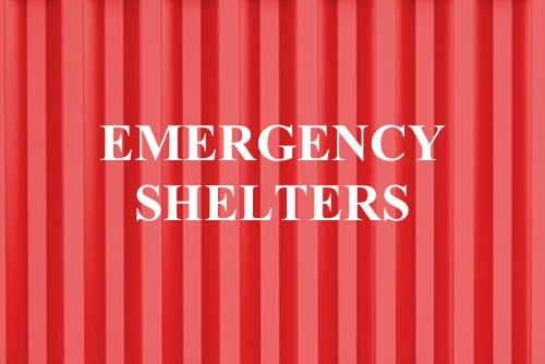 Container Homes Emergency Shelters