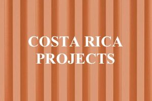 Costa Rica Projects: Container Homes and Offices made from shipping containers. Container Home pictures and video.