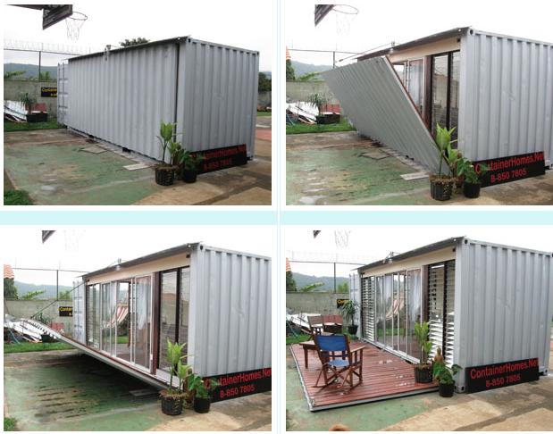 Shipping Container Studio Apartment
