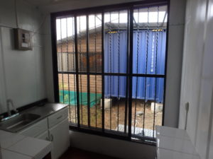 Emergency Shelter window