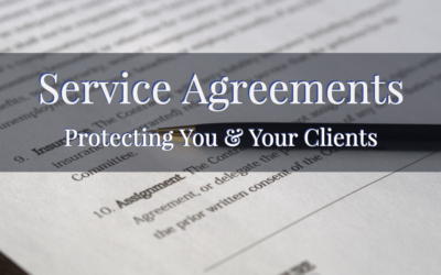 Service Agreement   Protecting You & Your Clients