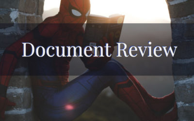 Document Review   A Look Into My Personal Process