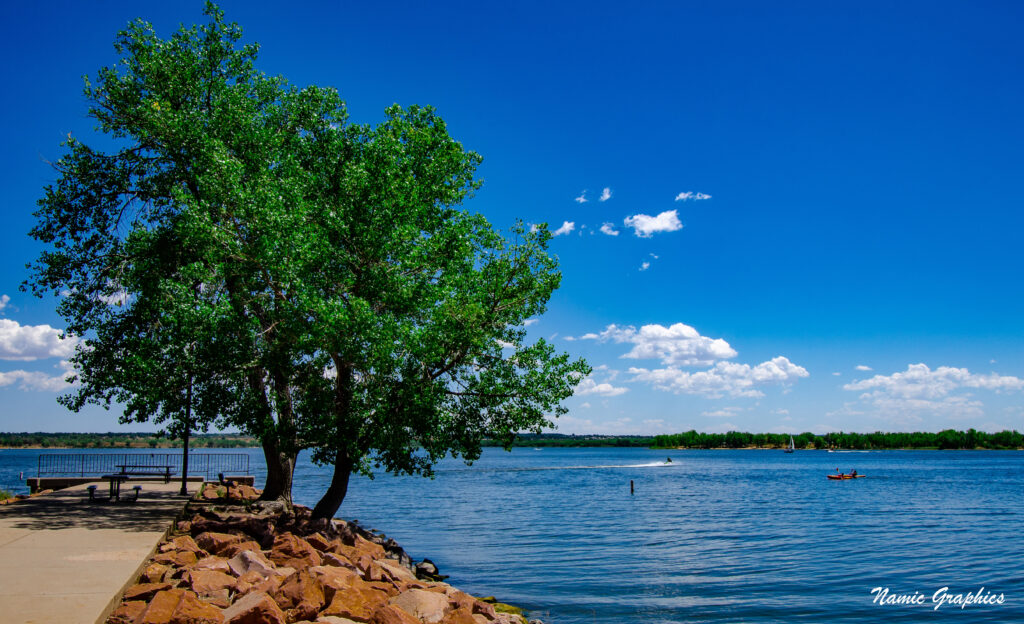 Cheery Creek Reservoir and Jetty Colorado 1
