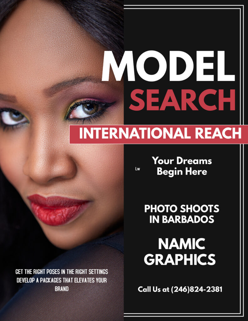 modeling photography in Barbados