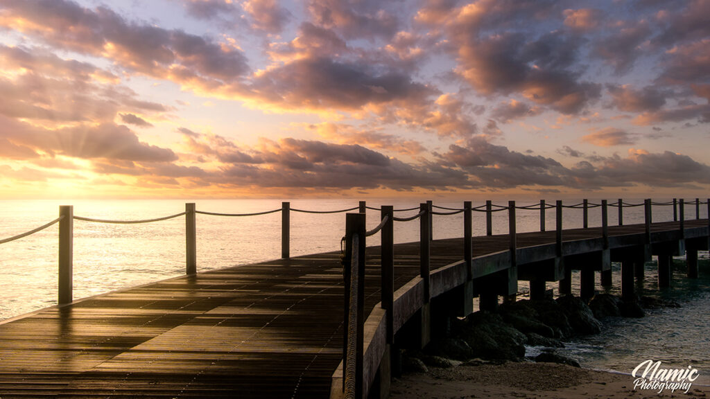 Heywoods Beach Barbados Sunset