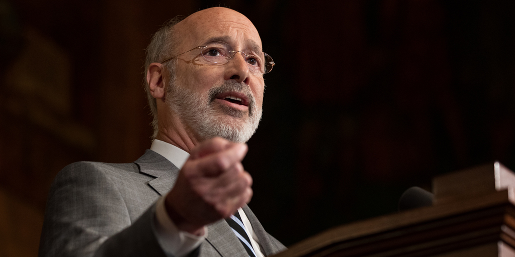 Governor Tom Wolf seeks to resurrect Obama recommendations, police slam move point to Wolf marching with Blue Lives Murder signs