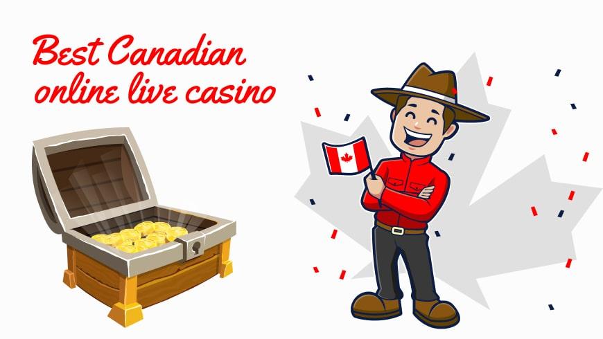 Best Canadian online live casino