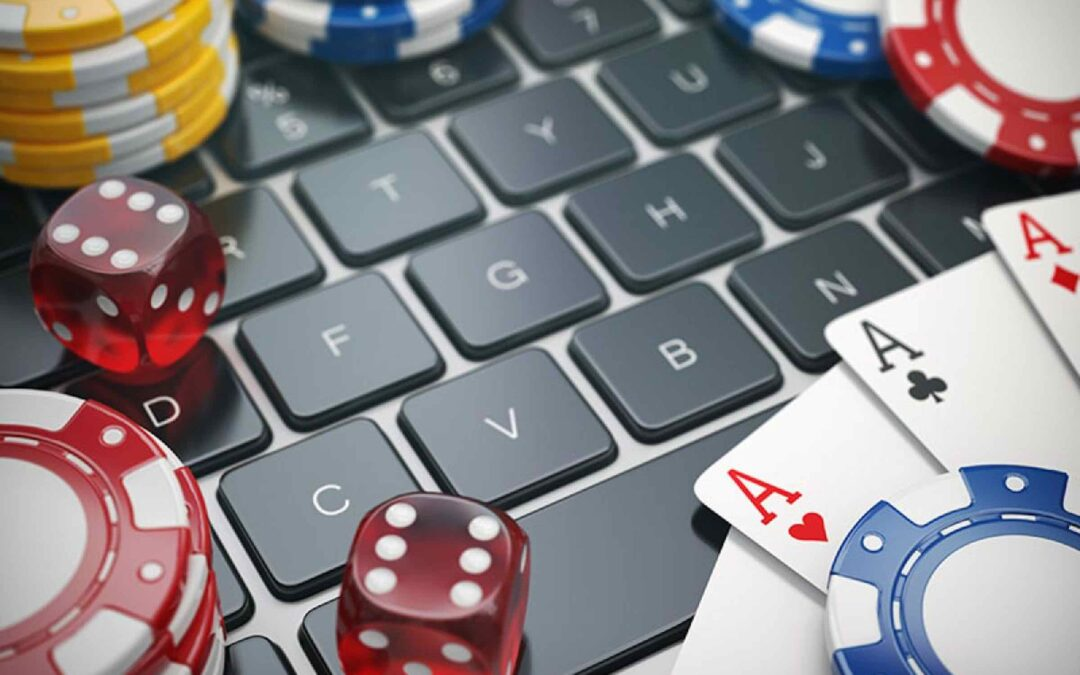 Closing of casino doors forces a move to online.