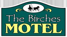 the birches motel logo
