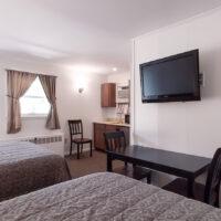 the birches motel room
