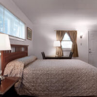 the birches motel queen bed