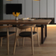Simple & Modern Designed Solid Wood Dining Table