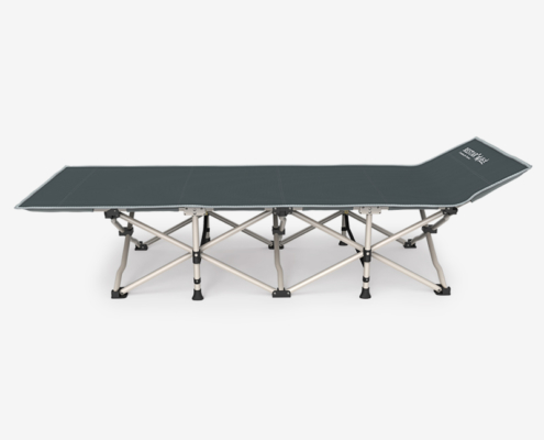 Heavy-Duty, Portable, & Foldable Cot for Adults with Adjustable Lengths