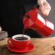 Stovetop Espresso Maker with Heat-Resistant Handle & Custom Logo Placement