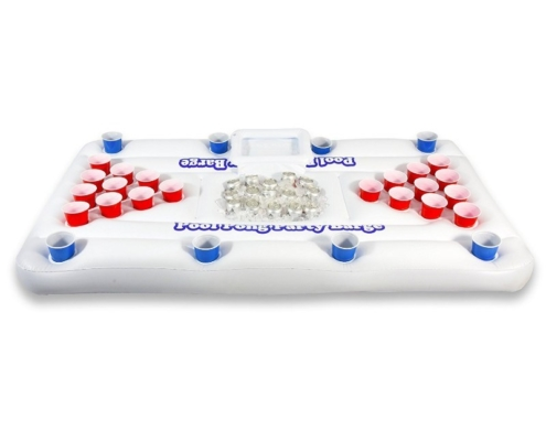 6ft Inflatable Floating Beer Pong Table