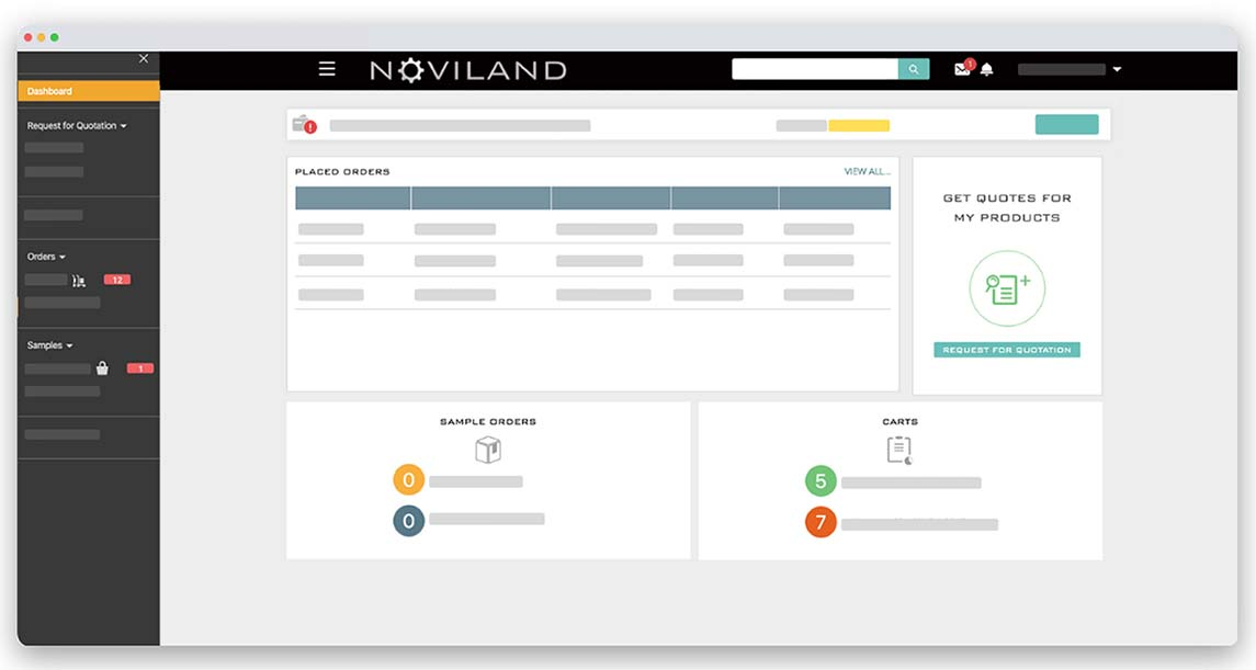 Noviland The All-in-One Sourcing & Logistics Hub