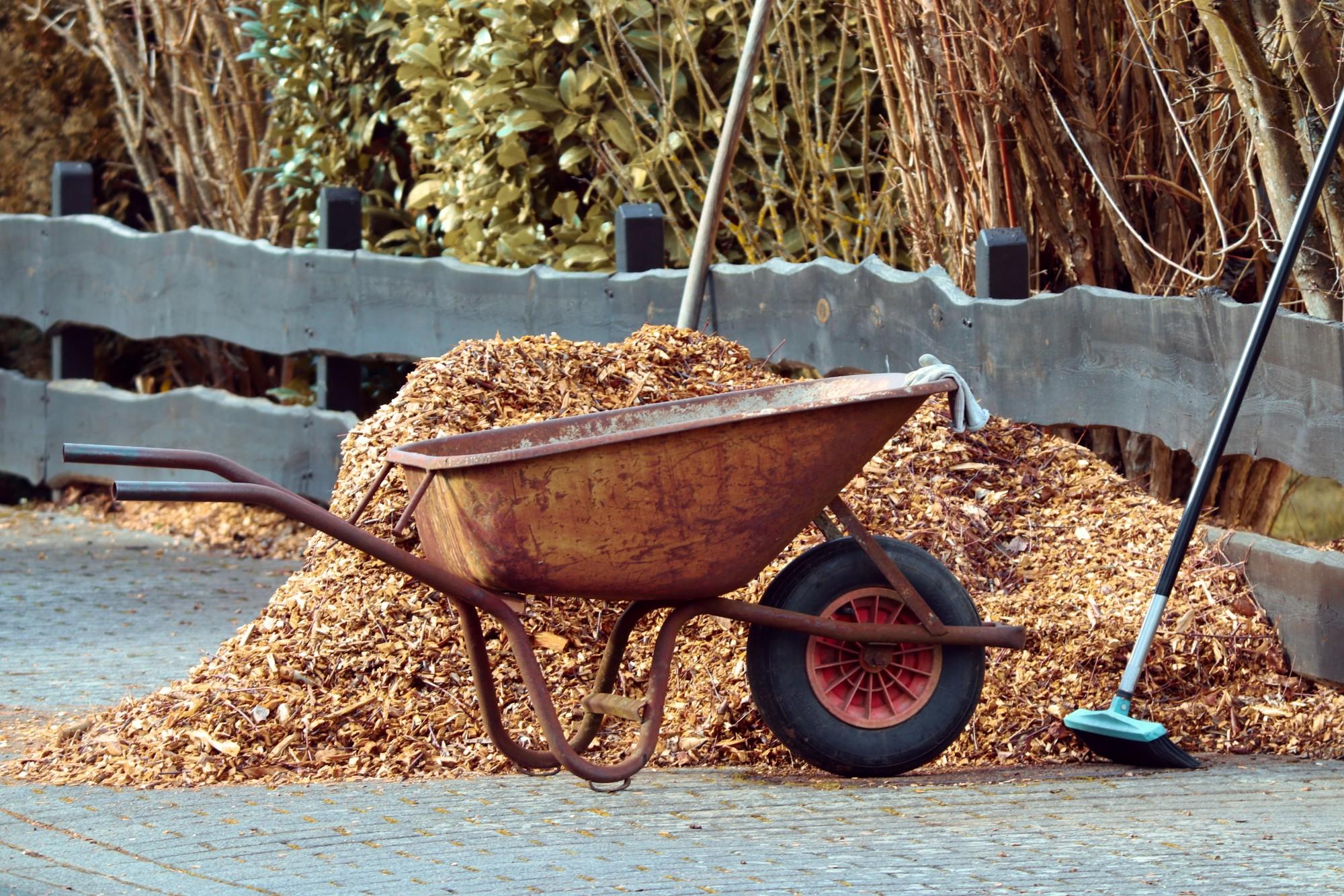 maximize mulch use