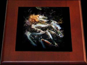 Keepsake Box-Poseidon's Flame