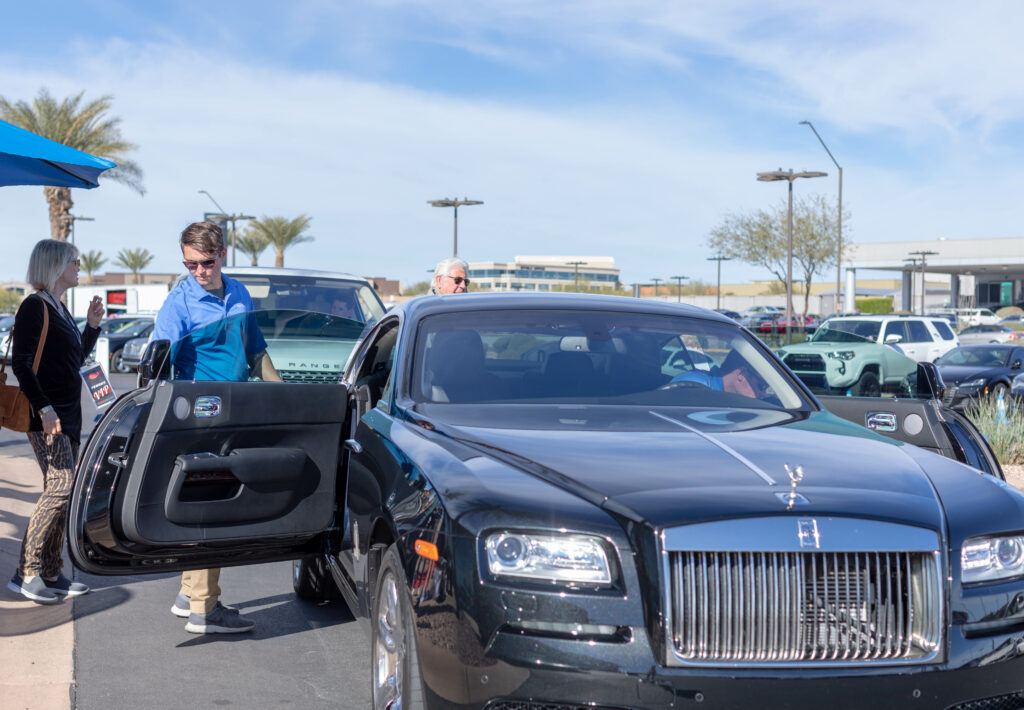 valet parking car in phoenix