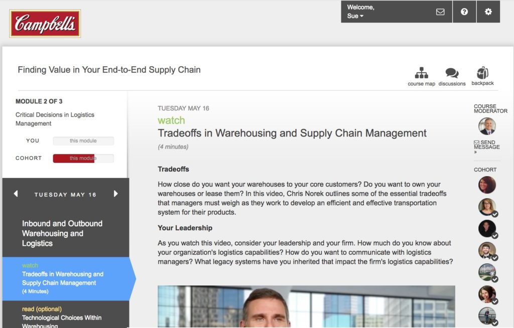 Innovative Training in Supply Chain Management