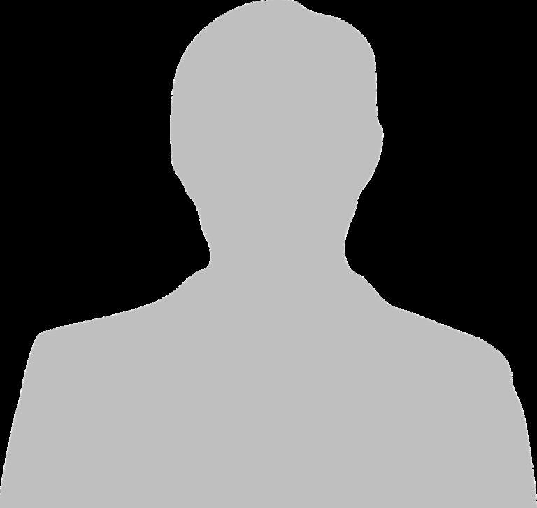 man, gray, silhouette
