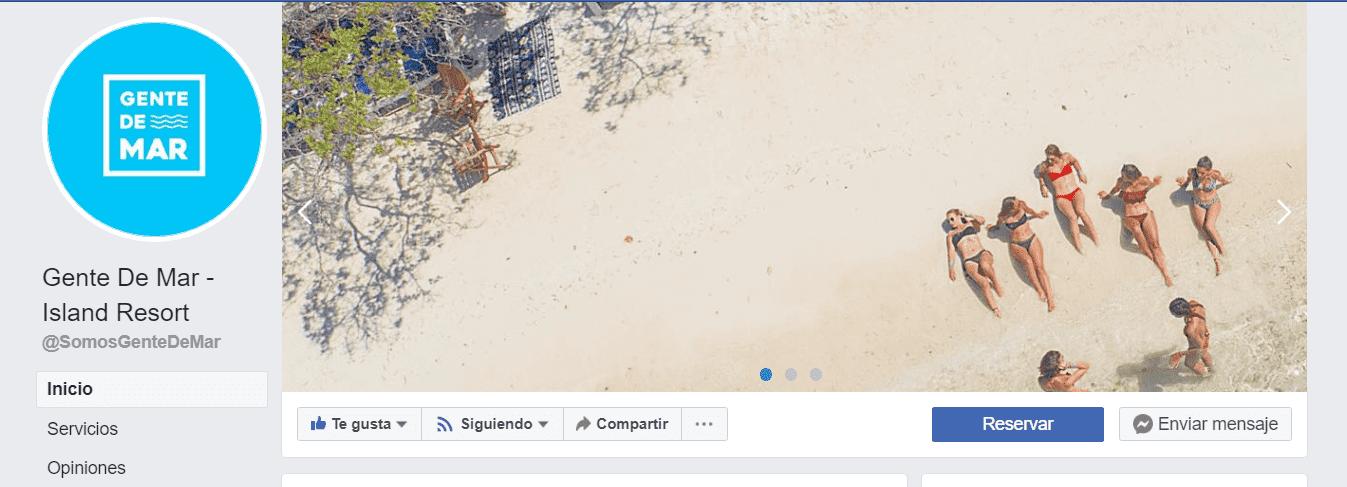 Una buena página de Facebook y una estrategia de redes sociales también ayuda a posicionar tu hotel