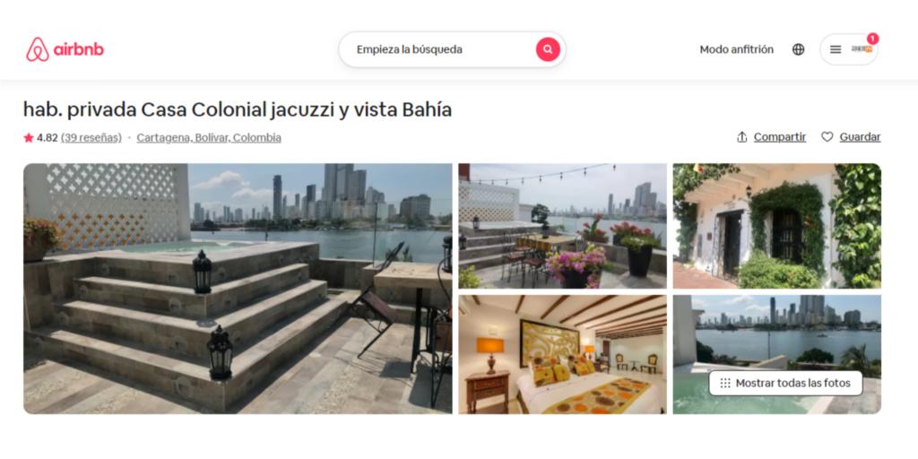 Diseño y gestión del perfil de Airbnb