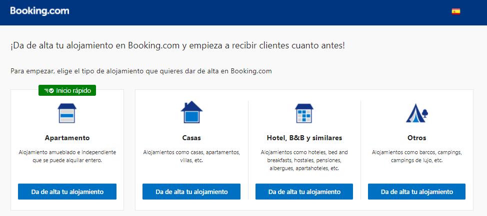 Agregar tu hotel en Booking.com