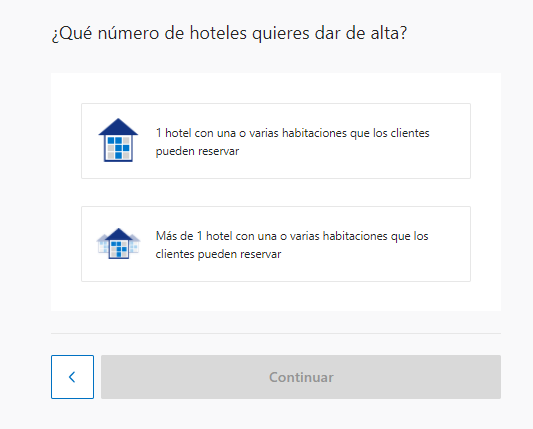 Ingresar tu hotel en Booking.com