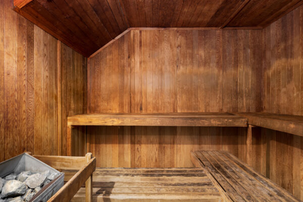 Sauna at Chesterfield Village Apartments