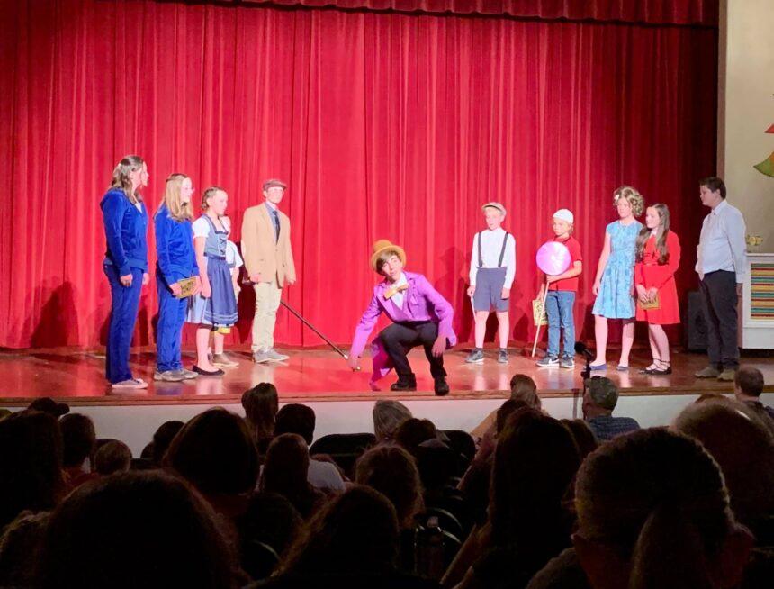 Willy Wonka Jr. was Scrumdiddlyuptious