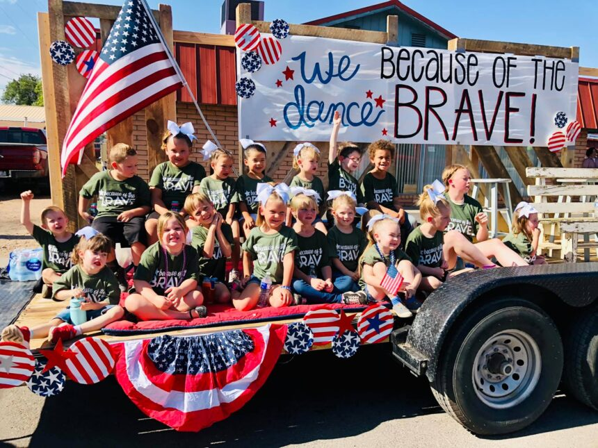 We dance, BECAUSE of the BRAVE!