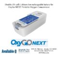 photo of OxyGo Next Double Lithium Ion battery 1400-3010-16 from Mountain View Medical Supply