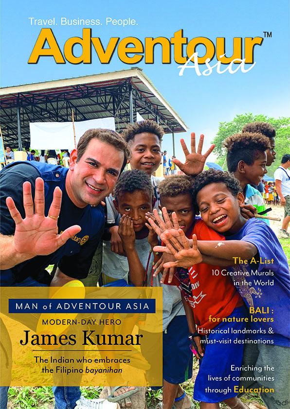 Majinder James Kumar AdvenTour Magazine Feature