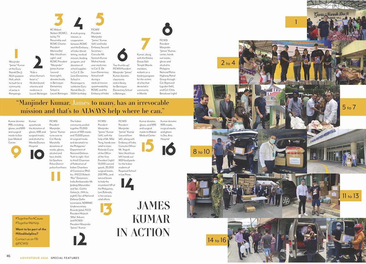 AdvenTour Magazine Feature Page 46 - 47
