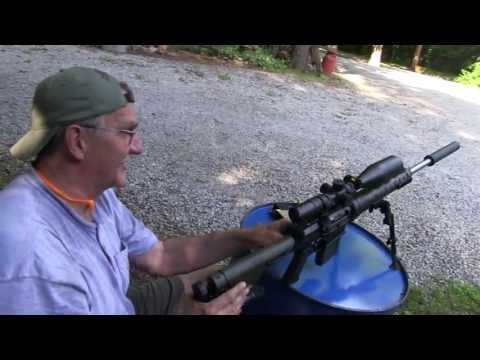 Suppressed AR-10 Rifle